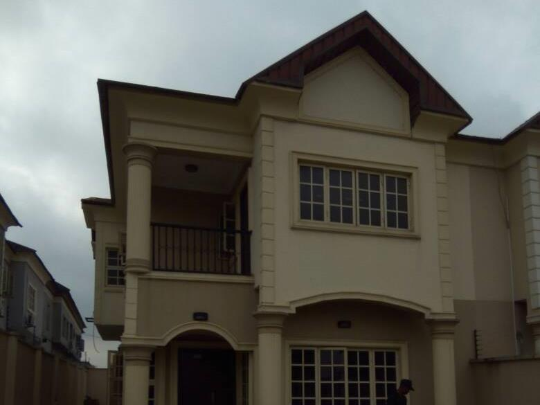 four bedroom semi detached duplex with mini flat bq at Magodo GRA phase One