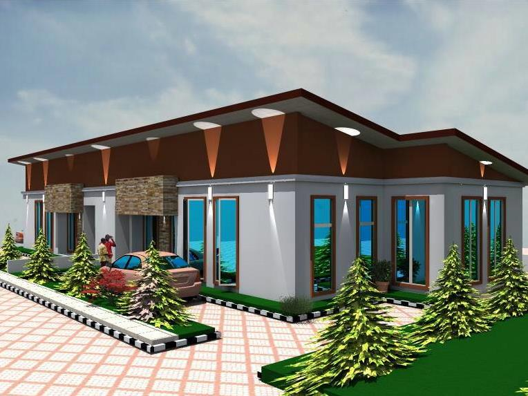 3 Bedroom Bungalow For Sale , CASAVILA ESTATE MAGBORO